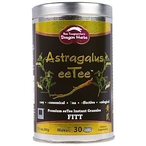 Драгон Хербс, Astragalus eeTee, Premium eeTee Instant Granules, 2.1 oz (60 g) отзывы
