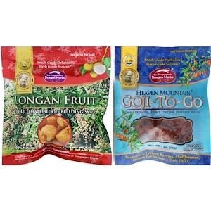 Драгон Хербс, Goji-To-Go & Longan Fruit Combo Pack, 1 oz (28 g) Each отзывы