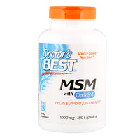 MSM with OptiMSM, 1,000 mg, 180 Capsules - фото