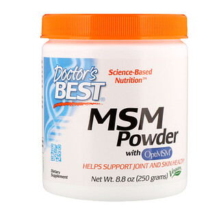 Doctor's Best, MSM Powder with OptiMSM, 8.8 oz (250 g)