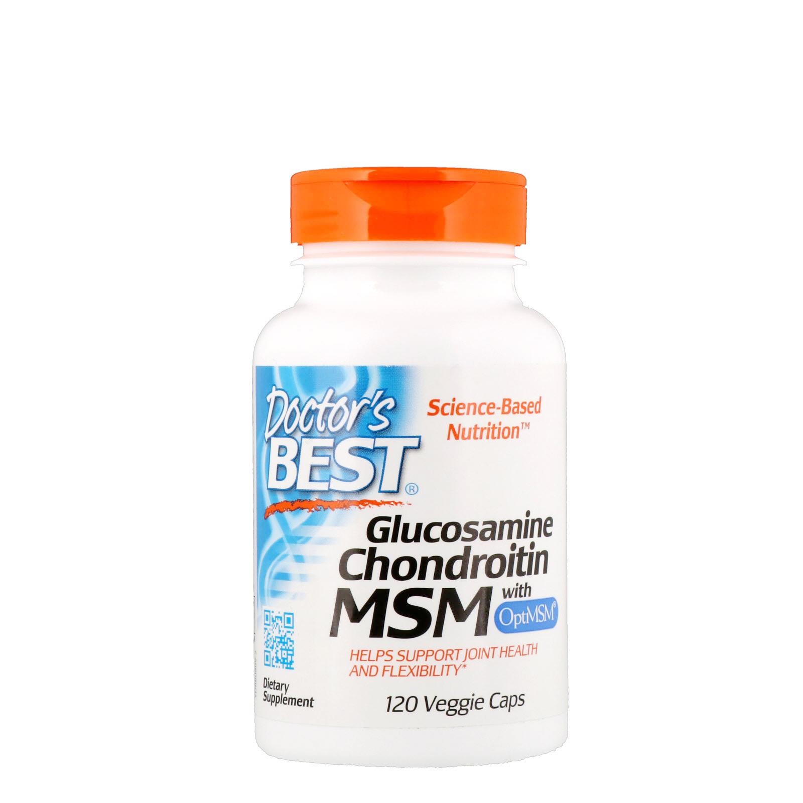 Doctor's Best, Glucosamine/Chondroitin/MSM, 360 Kapseln