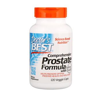 Doctor's Best, 복합 프로스테이트 포뮬라 (Comprehensive Prostate Formula), 120 채소 캡슐