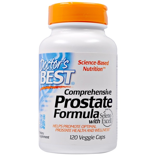 Doctor's Best, Comprehensive Prostate Formula, 120 Veggie Caps