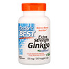 Doctor's Best, Extra Strength Ginkgo、120 mg、植物性カプセル 120粒