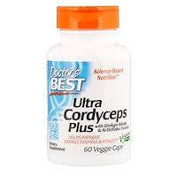 Ультра кордицепс плюс, 60растительных капсул - фото