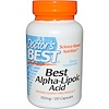 Doctor's Best, Best Alpha Lipoic Acid, 150 mg, 120 Capsules