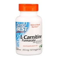 L-карнитин фумарат с карнитинами Biosint, 855мг, 60растительных капсул - фото