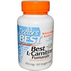 Doctor's Best, Best L-Carnitine Fumarate, 855 mg, 60 Veggie Caps