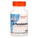 D-фенилаланин, 500 мг, 60 вегетарианских капсул - изображение