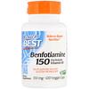 Doctor's Best, Benfotiamine 150, Fat-Soluble Vitamin B1, 150 mg, 120 Veggie Caps
