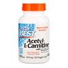 Doctor's Best, Ацетил-L-карнитин, 500 мг, 120 вегетарианских капсул
