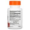 Doctor's Best, коэнзим Q10 с высокой степенью усвоения, с BioPerine, 400мг, 60вегетарианских капсул