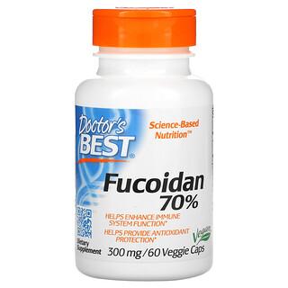 Doctor's Best, Fucoidan 70%, 60 Veggie Caps