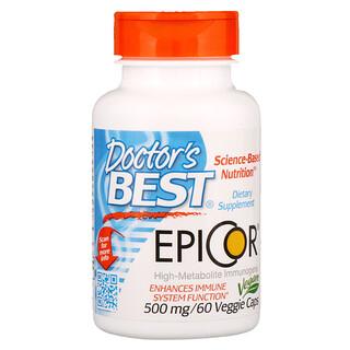 Doctor's Best, エピコ, 500 mg, 60粒(ベジタリアンカプセル)