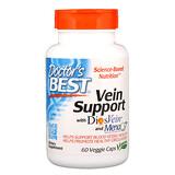 Отзывы о Doctor's Best, Vein Support, с DiosVein и MenaQ7, 60растительных капсул