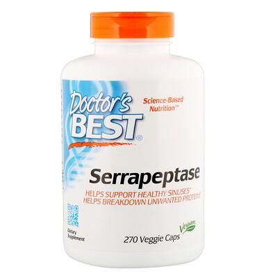 Серрапептаза, 270 капсул в растительной оболочке