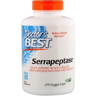 Doctor's Best, セラペプターゼ、270ベジカプセル