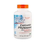 Отзывы о Doctor's Best, Фитосомный куркумин Featuring Meriva, 500 мг, 180 вегетарианских капсул