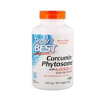 Фитосомный куркумин Featuring Meriva, 500 мг, 180 вегетарианских капсул - фото