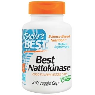 Doctor's Best, Nattokinase, 2,000 FUs, 270 Veggie Caps