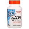 Doctor's Best, Calamari DHA 500 with Calamarine , 500 mg, 60 Softgels