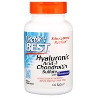 Лучшая гиалуроновая кислота с сульфатом хондроитина и коллагеном BioCell, 60 таблеток - фото