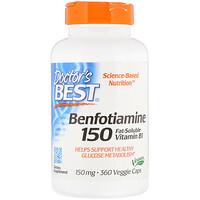 Benfotiamine, 150 mg, 360 Veggie Caps - фото