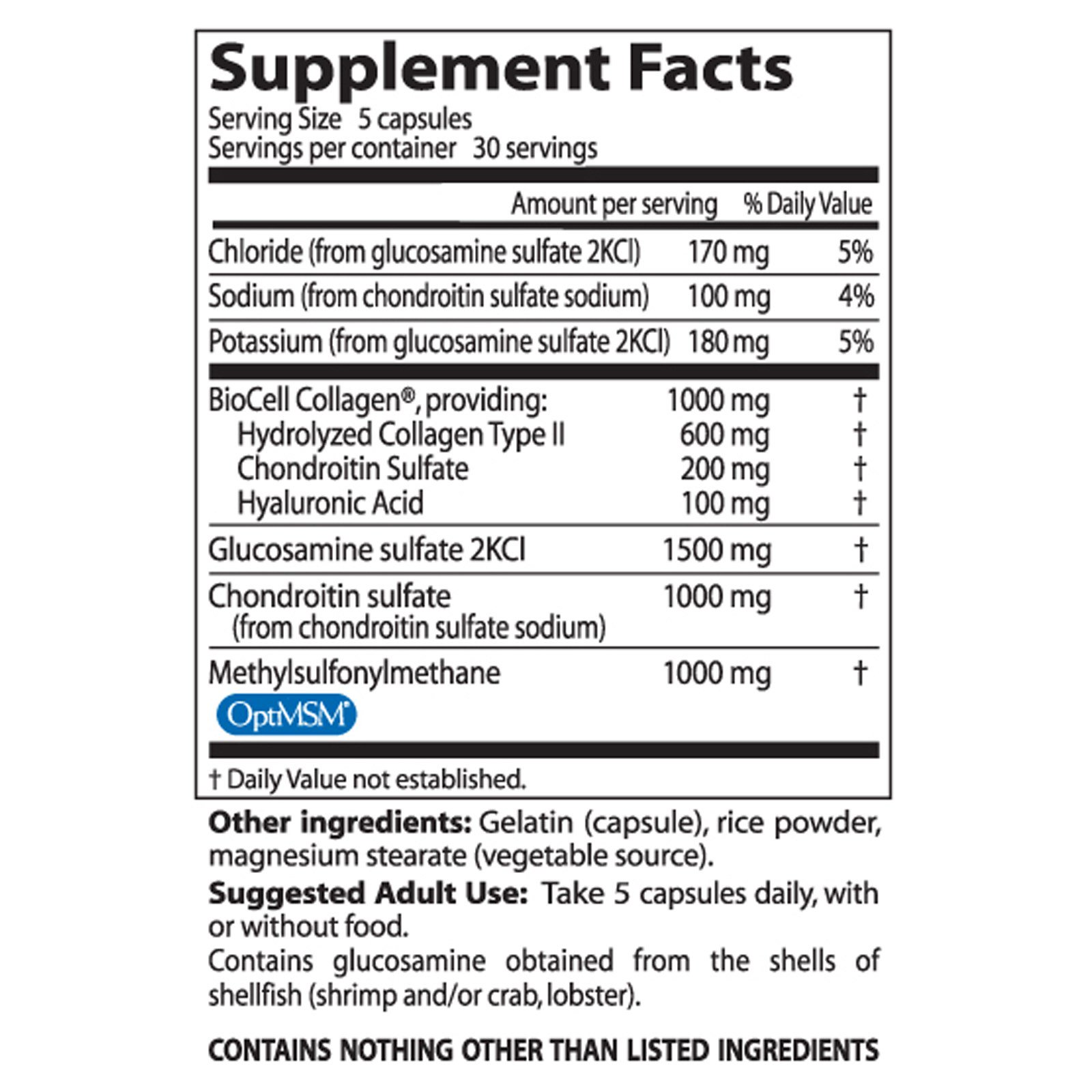 Doctor's Best, Glucosamine Chondroitin MSM + Hyaluronic Acid, 150 ...
