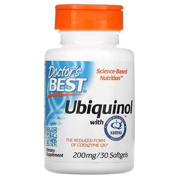 カネカユビキノール、200 mg、ソフトジェル30錠