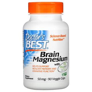 Doctor's Best, Brain Magnesium with Magtein, 50 mg, 90 Veggie Caps