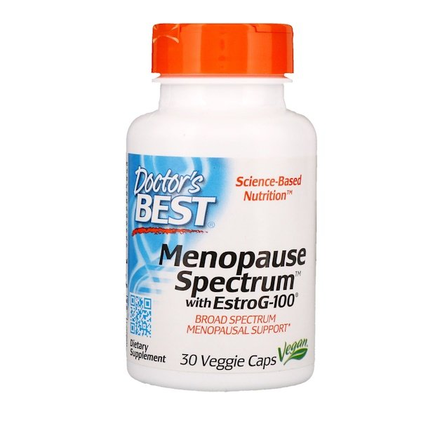 Doctor's Best, Menopause Spectrum with EstroG-100, 30 Veggie Caps