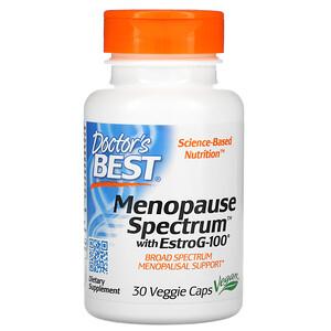 Докторс Бэст, Menopause Spectrum with EstroG-100, 30 Veggie Caps отзывы покупателей