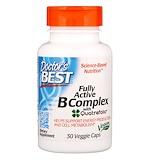 Отзывы о Doctor's Best, Fully Active B Complex with Quatrefolic, 30 Veggie Caps
