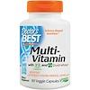 Doctor's Best, Multi-Vitamin, With Vitashine D3 and Quatrefolic, 90 Veggie Capsules