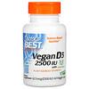 Doctor's Best, Vegan D3 with Vitashine D3, 2,500 IU, 60 Veggie Caps