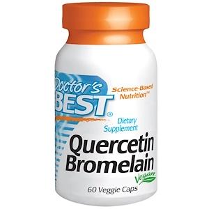 Докторс Бэст, Quercetin Bromelain, 60 Veggie Caps отзывы
