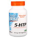 Отзывы о Doctor's Best, 5-HTP, 100 мг, 180 вегетарианских капсул