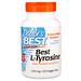 L-тирозин, 500 мг, 120 вегетарианских капсул - изображение