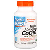 Doctor's Best, High Absorption CoQ10 with BioPerine, 200 mg, 180 Veggie Caps