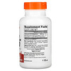 Doctor's Best, CoQ10 de alta absorción con BioPerine, 200mg, 180cápsulas vegetales