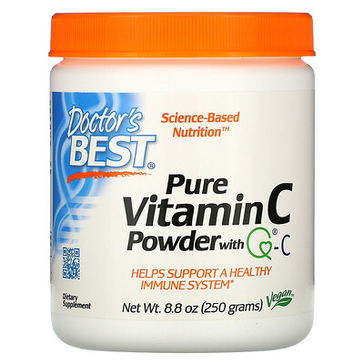Купить Doctor's Best Витамин C в порошке, с Quali-C, 8, 8 унции (250 г)