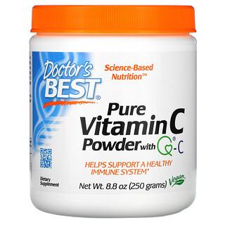 Doctor's Best, Poudre de vitamineC pure avec Q-C, 250g