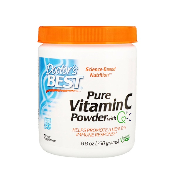 Doctor's Best, Vitamin-C-Pulver mit Quali-C, 250 g (8,8 oz)