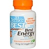 Doctor's Best, Best Energy Featuring Niagen, 75 mg, 60 Veggie Caps (Discontinued Item)