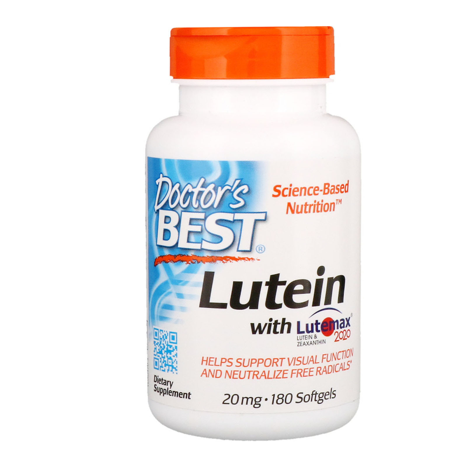 Best Collagen Pills 2020 Doctor's Best, Lutein With Lutemax 2020, 20 mg, 180 Softgels