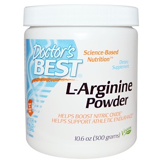 Doctor's Best, L-Arginine Powder, 10.6 oz (300 g)