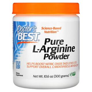 Doctor's Best, Pure L-Arginine Powder, 10.6 oz (300 g)