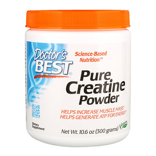Doctor's Best, Pure Creatine Powder, 10.6 oz (300 g)