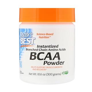 Doctor's Best, Instantized BCAA Powder, 10.6 oz (300 g)