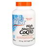 Doctor's Best, Легкоусвояемый CoQ10 с BioPerine, 100 мг, 360 вегетарианских капсул